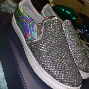 Holographic RAVE shoes EDC ULTRA MIAMI
